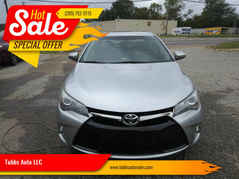 2016 Toyota Camry for sale at Tubbs Auto LLC in Tuscaloosa AL