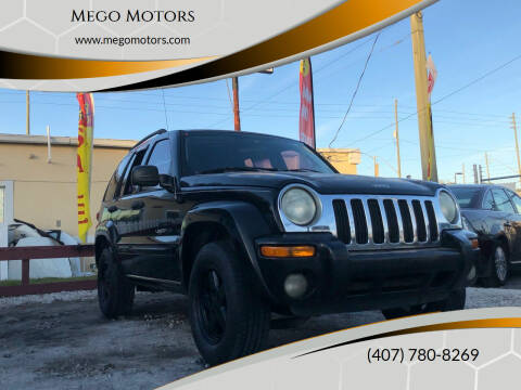 2003 Jeep Liberty for sale at Mego Motors in Orlando FL