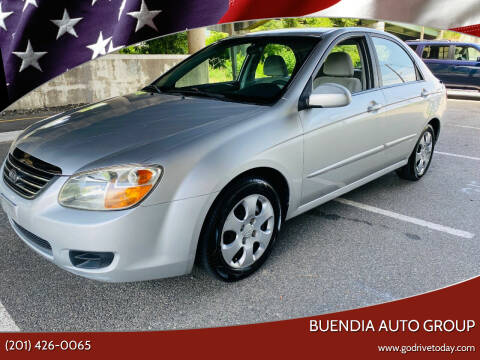 2008 Kia Spectra for sale at BUENDIA AUTO GROUP in Hasbrouck Heights NJ