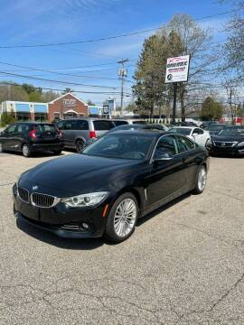 2014 BMW 4 Series for sale at NEWFOUND MOTORS INC in Seabrook NH
