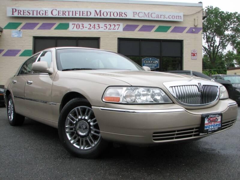 2010 Lincoln Town Car for sale in Falls Church, VA