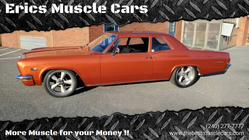 1966 Chevrolet Bel Air for sale at Erics Muscle Cars in Clarksburg MD