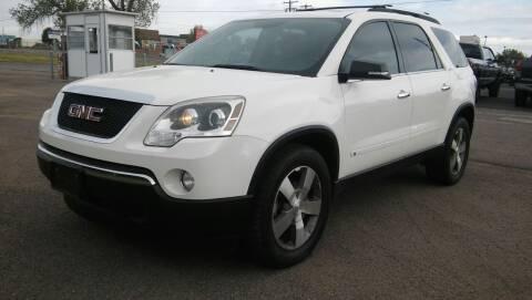 2009 GMC Acadia for sale at Motor City Idaho in Pocatello ID