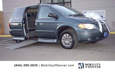 2005 Chrysler Town and Country for sale at CO Fleet & Mobility in Denver CO