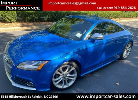 2009 Audi TTS for sale at Import Performance Sales in Raleigh NC