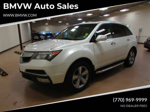 2013 Acura MDX for sale at BMVW Auto Sales in Union City GA