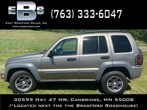 2006 Jeep Liberty for sale at East Bradford Sales, Inc in Cambridge MN