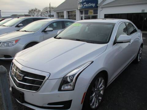 2015 Cadillac ATS for sale at AUTO FACTORY INC in East Providence RI