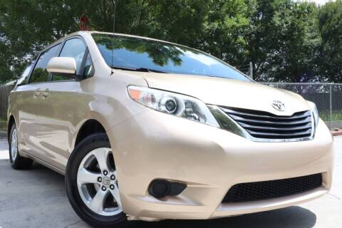 2011 Toyota Sienna for sale at Cobb Luxury Cars in Marietta GA
