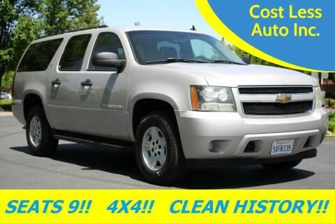 2007 Chevrolet Suburban for sale at Cost Less Auto Inc. in Rocklin CA