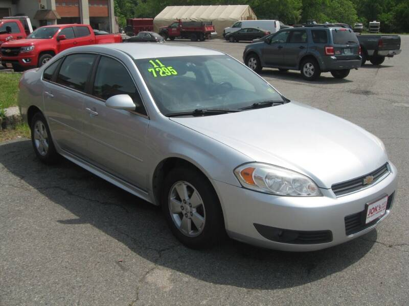 2011 Chevrolet Impala for sale at Joks Auto Sales & SVC INC in Hudson NH