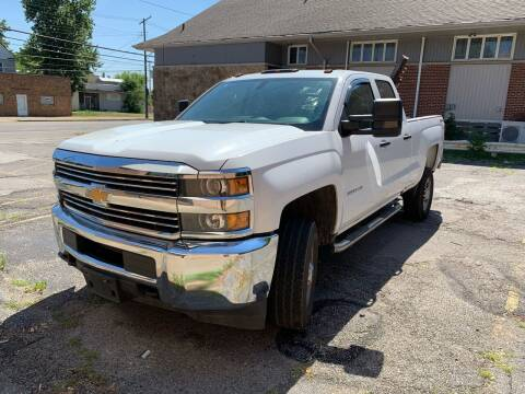 2017 Chevrolet Silverado 2500HD for sale at USA AUTO WHOLESALE LLC in Cleveland OH