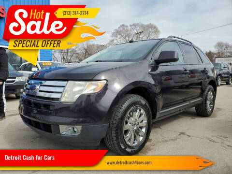 2007 Ford Edge for sale at Detroit Cash for Cars in Warren MI