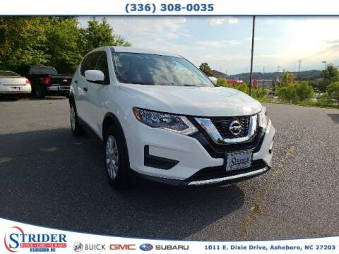 2017 Nissan Rogue for sale at STRIDER BUICK GMC SUBARU in Asheboro NC