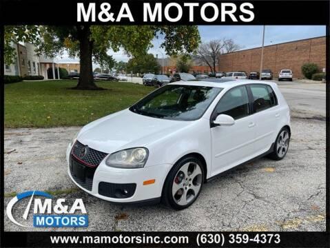 2009 Volkswagen GTI for sale at M & A Motors in Addison IL