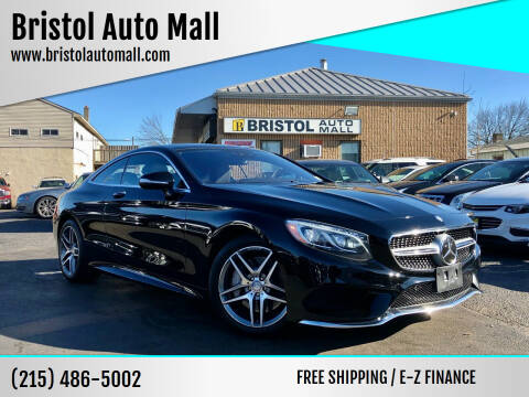 2016 Mercedes-Benz S-Class for sale at Bristol Auto Mall in Levittown PA
