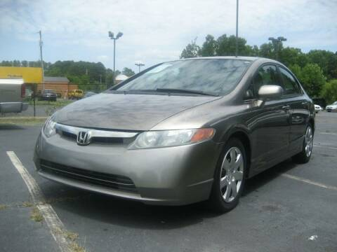 2006 Honda Civic for sale at Roswell Auto Imports in Austell GA
