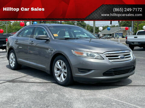 2012 Ford Taurus for sale at Hilltop Car Sales in Knoxville TN