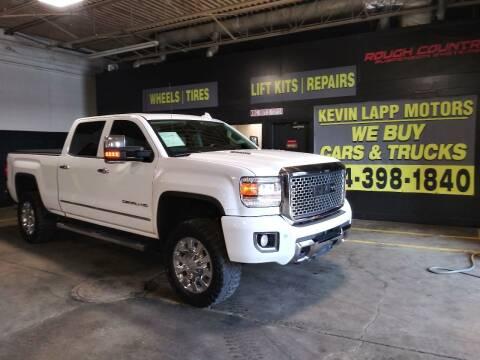 2015 GMC Sierra 2500HD for sale at Kevin Lapp Motors in Plymouth MI
