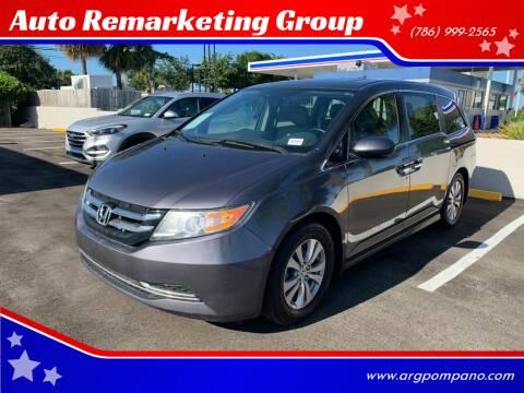 2015 Honda Odyssey for sale at Auto Remarketing Group in Pompano Beach FL