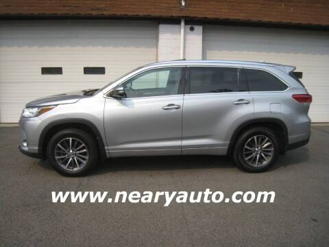 2018 Toyota Highlander for sale at Neary's Auto Sales & Svc Inc in Scranton PA