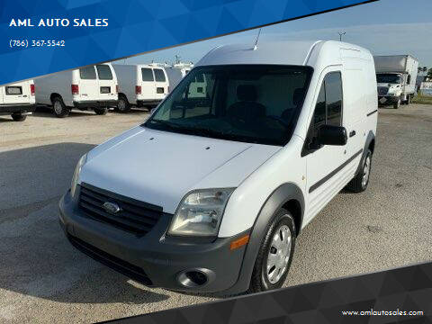 2010 Ford Transit Cargo for sale at AML AUTO SALES - Cargo Vans in Opa-Locka FL