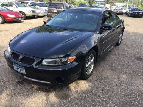 2001 Pontiac Grand Prix for sale at Sparkle Auto Sales in Maplewood MN
