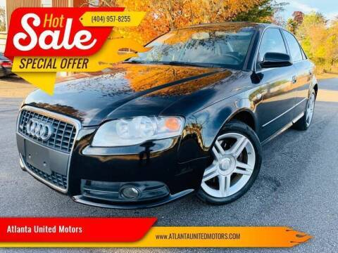 2008 Audi A4 for sale at Atlanta United Motors in Buford GA