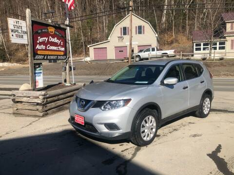 2016 Nissan Rogue for sale at Jerry Dudley's Auto Connection in Barre VT