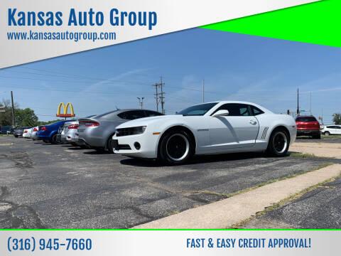 2013 Chevrolet Camaro for sale at Kansas Auto Group in Wichita KS