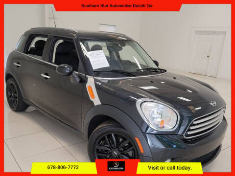 2013 MINI Countryman for sale at Southern Star Automotive, Inc. in Duluth GA