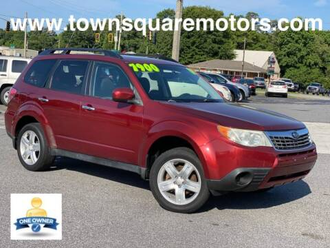 2009 Subaru Forester for sale at Town Square Motors in Lawrenceville GA
