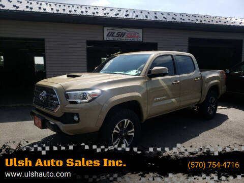 2017 Toyota Tacoma for sale at Ulsh Auto Sales Inc. in Summit Station PA