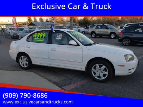 2004 Hyundai Elantra for sale at Exclusive Car & Truck in Yucaipa CA
