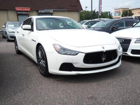 2015 Maserati Ghibli for sale at Sunrise Used Cars INC in Lindenhurst NY