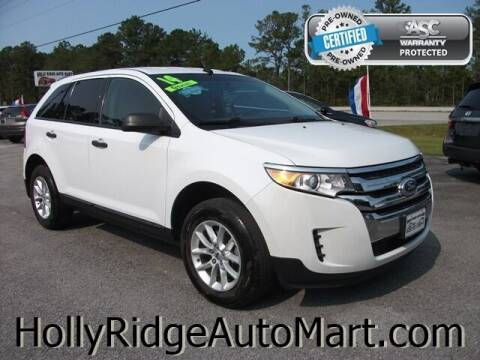 2014 Ford Edge for sale at Holly Ridge Auto Mart in Holly Ridge NC