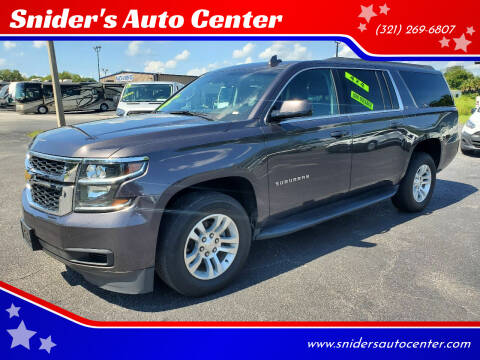 2018 Chevrolet Suburban for sale at Snider's Auto Center in Titusville FL