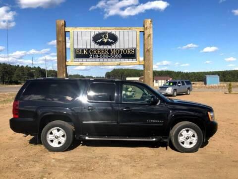 2009 Chevrolet Suburban for sale at Elk Creek Motors LLC in Park Rapids MN