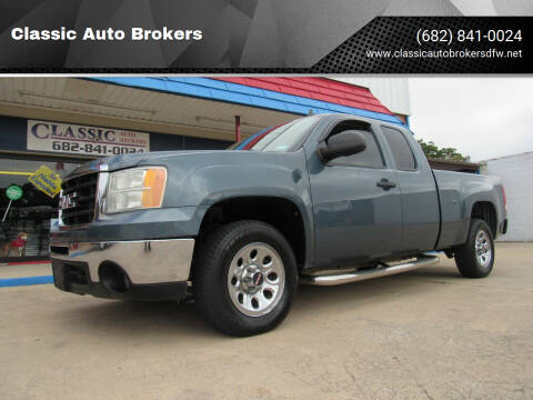 2009 GMC Sierra 1500 for sale at Classic Auto Brokers in Haltom City TX