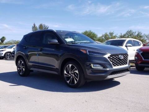 2021 Hyundai Tucson for sale at DORAL HYUNDAI in Doral FL