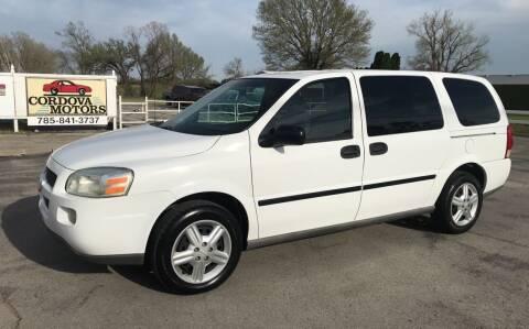 2005 Chevrolet Uplander for sale at Cordova Motors in Lawrence KS