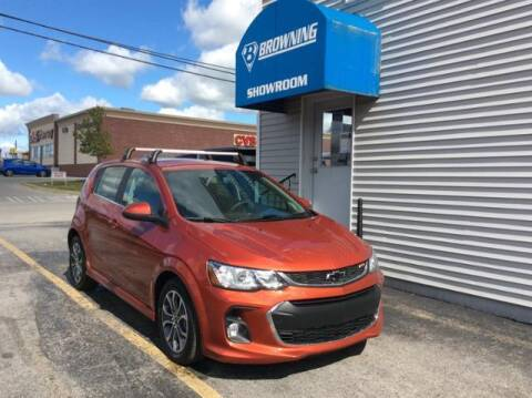 2020 Chevrolet Sonic for sale at Browning Chevrolet in Eminence KY