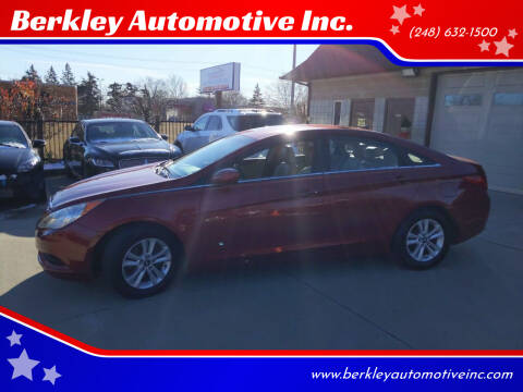 2011 Hyundai Sonata for sale at Berkley Automotive Inc. in Berkley MI