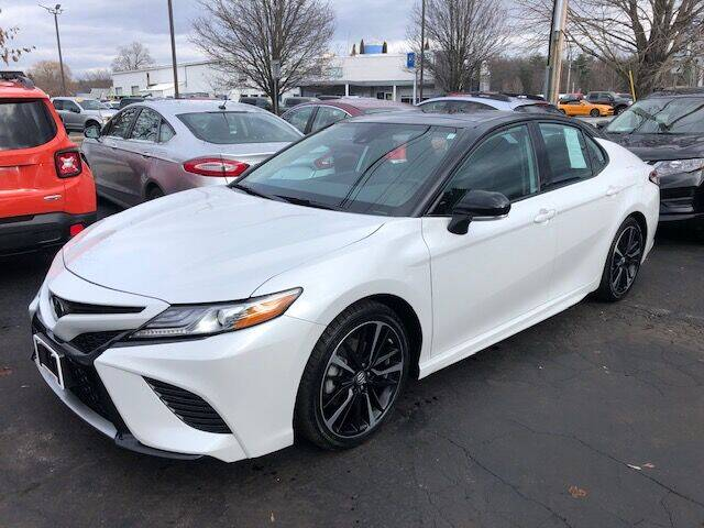 2019 Toyota Camry for sale at BATTENKILL MOTORS in Greenwich NY