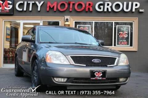 2005 Ford Five Hundred for sale at City Motor Group, Inc. in Wanaque NJ