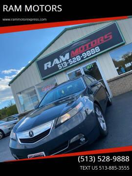 2013 Acura TL for sale at RAM MOTORS in Cincinnati OH