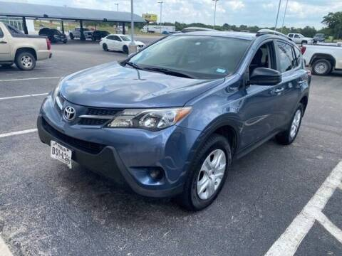 2014 Toyota RAV4 for sale at Jerry's Buick GMC in Weatherford TX