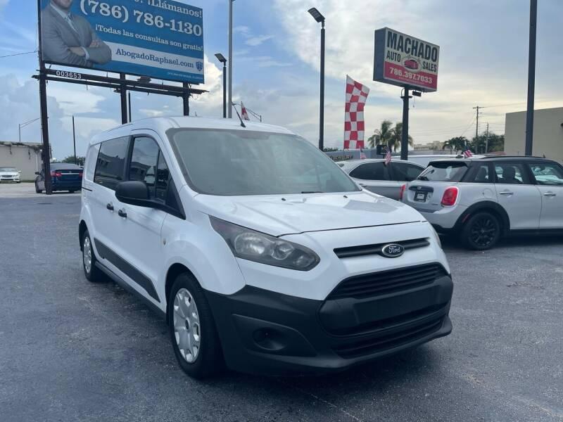 2014 Ford Transit Connect Cargo for sale at MACHADO AUTO SALES in Miami FL