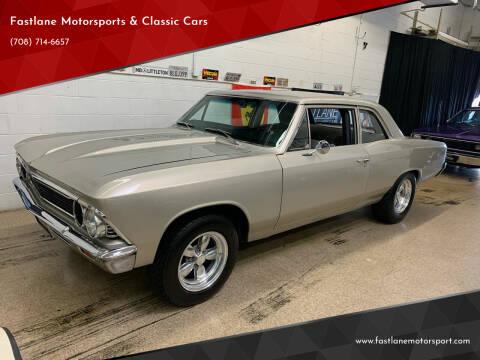 1966 Chevrolet Chevelle for sale at Fastlane Motorsports & Classic Cars in Addison IL
