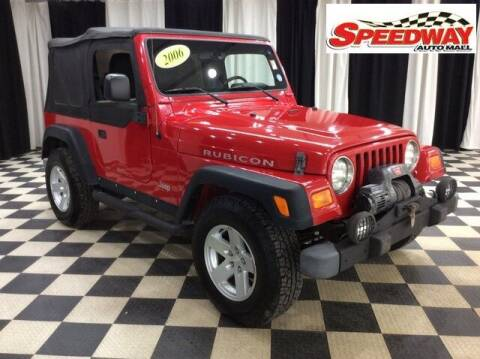 2006 Jeep Wrangler for sale at SPEEDWAY AUTO MALL INC in Machesney Park IL